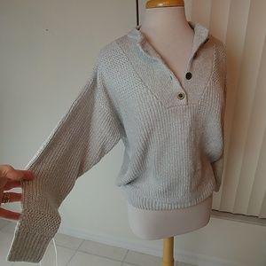 Vtg. Cotton blend biggie Dad, boyfriend sweater